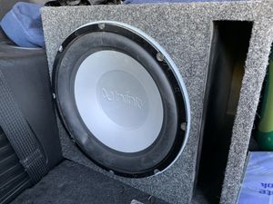 Infinity subwoofer for Sale in Bend, OR