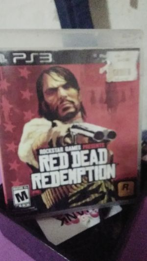 PLAYSTATION3 RED DEAD REDEMPTION NO SCRATCHES for Sale in Fullerton, CA
