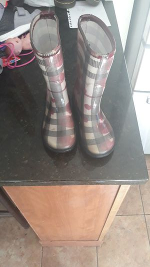Burberry rain boots for Sale in Federal Way, WA