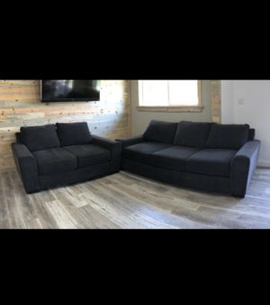 Charcoal grey couch set for Sale in Corona, CA