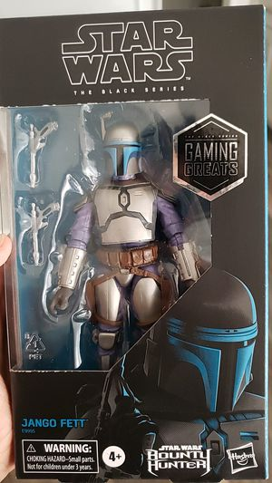 Starwars black series gaming greats Jango Fett for Sale in West Covina, CA