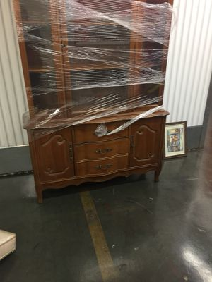 Antique china closet for Sale in Landover, MD