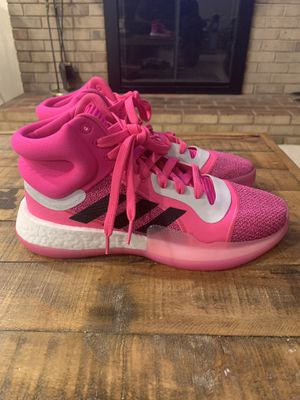 Adidas Marquee Boost 'Kay Yow' Breast Cancer Pink Basketball Shoes Mens Sz 9 for Sale in Franconia, VA