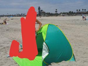 Swift Open 2 person beach tent for Sale in Murrieta, CA