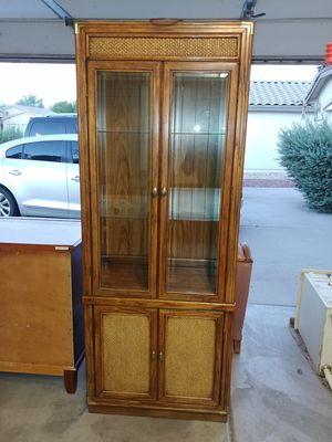 Vintage Curio/Hutch for Sale in Surprise, AZ