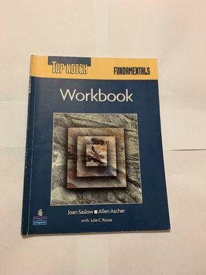 Top Notch Fundamentals workbook for Sale in Miami Gardens, FL