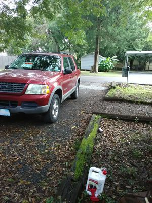 .. 2002 Ford Explorer XLT saleing as is for Sale in Scott, LA