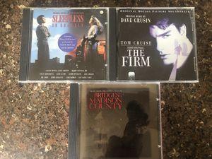 Movie sound track CDs, 3 total. for Sale in Marysville, WA