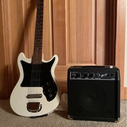 Harmony Electric Guitar with Amp for Sale in Covington,  WA