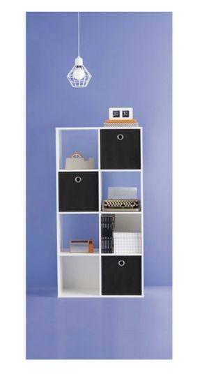 White 8-cube organizer shelf for Sale in Anacortes, WA