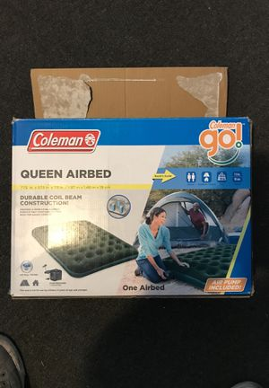 Queen Air bed mattress with pump for Sale in North Providence, RI