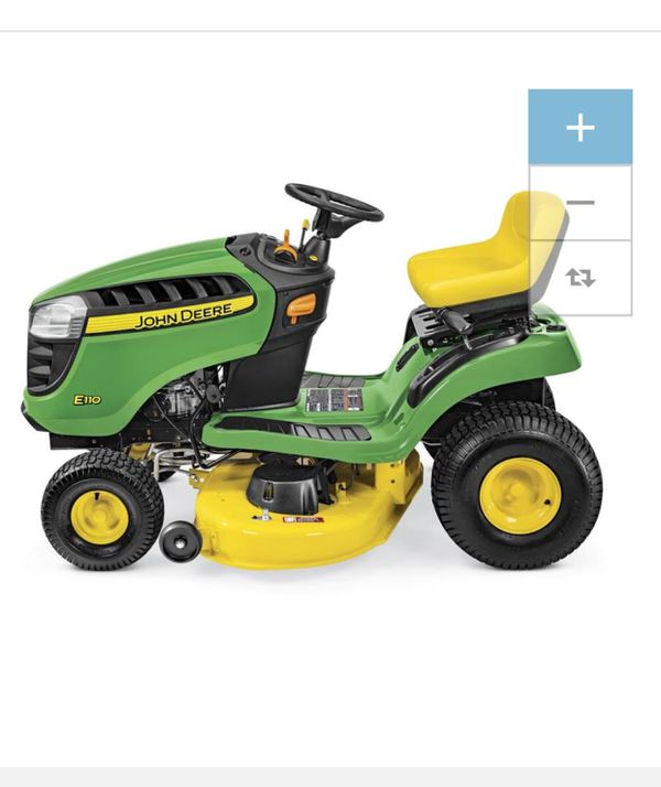 John Deere E100 17 5 Hp Automatic 42 Riding Lawn Mower For