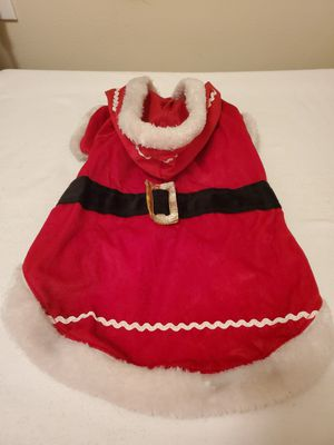 Dog Costume - Santa coat for medium dog for Sale in Houston, TX