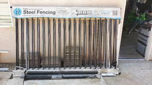 Steel Fencing for Sale in Fresno, CA