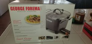 New George Foreman healthy cooking smart kitchen multicooker for Sale in San Diego, CA