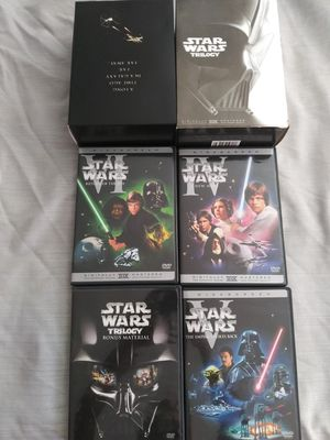 Starwars trilogy for Sale in Fontana, CA