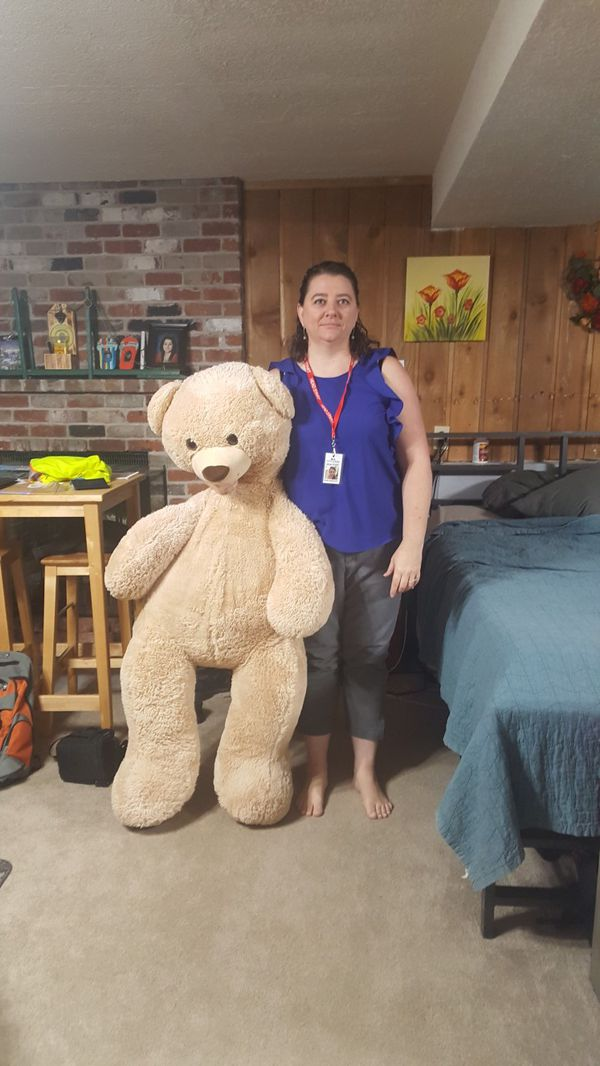 Big stuffed bear