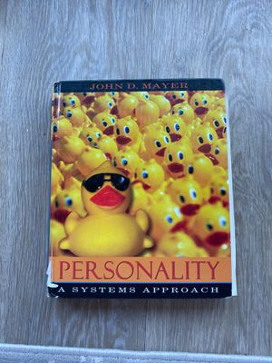 Psychology Book (Personality) A system Approcah for Sale in Tustin, CA