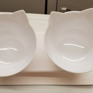 Modern Elavated Cat Bowls for Sale in Oklahoma City, OK
