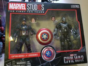 Marvel legends captain America crossbones 2 pack for Sale in Wayne, NJ
