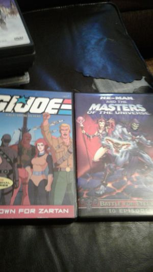 G.I Joe and He Man Animated DVD for Sale in Fresno, CA