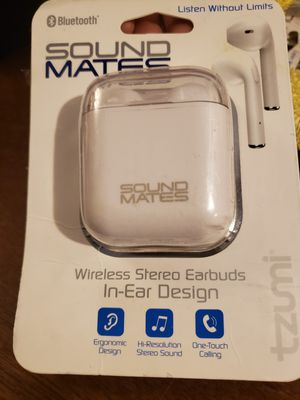 Sound Mates wireless Earbuds/Bluetooth for Sale in Chula Vista, CA