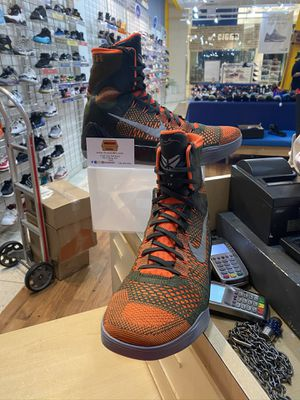 Nike Kobe 9 Elite Seqouia Size 12 for Sale in Wheaton-Glenmont, MD
