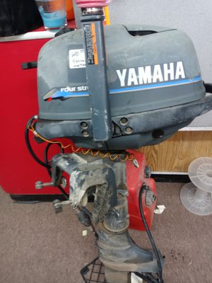 Yamaha 4 stroke with gas tank for Sale in Albuquerque, NM