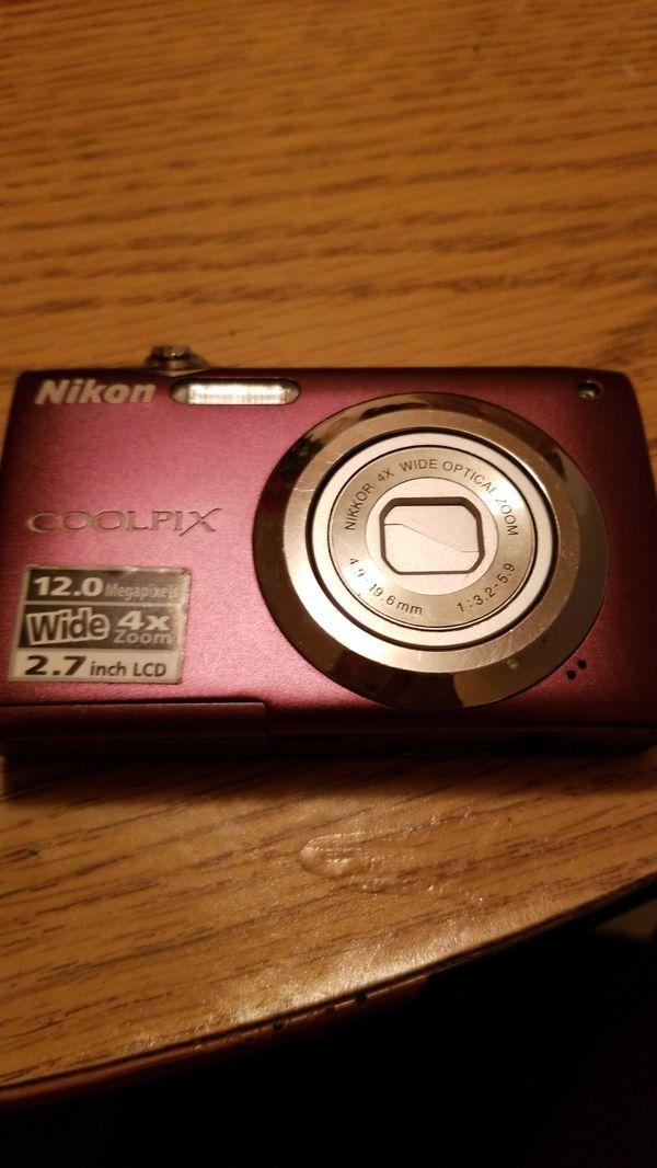 Purple Nikon CoolPix
