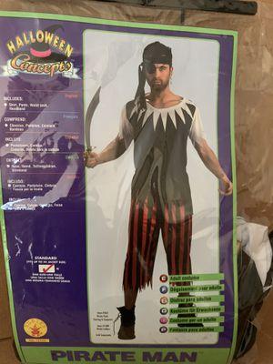 Pirate Man Costume-Size Medium for Sale in Boca Raton, FL
