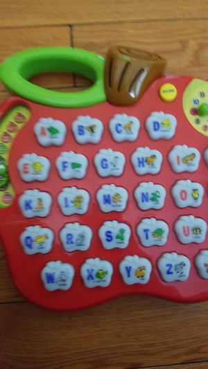 Kids apple learning toy abc and many more for Sale in Los Angeles, CA