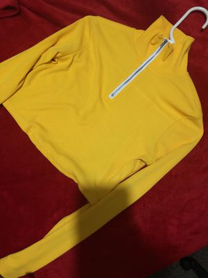 Yellow cropped Hoodie for Sale in Phoenix, AZ