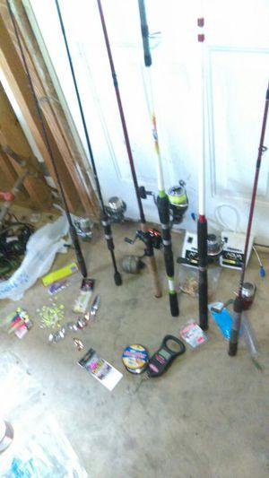 Huge fishing sale for Sale in Brookwood, AL