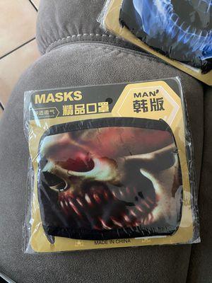 Skull face mask for Sale in Oceanside, CA