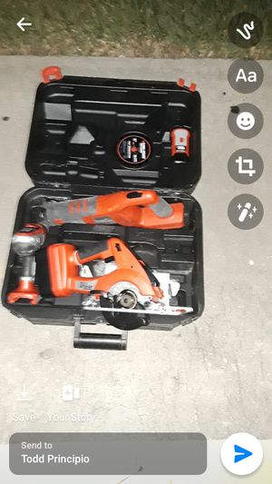 Black & Decker Tool Set for Sale in Orlando, FL