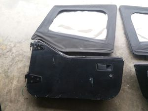 1987 JEEP Wrangler YJ doors and parts for Sale in Canton, GA