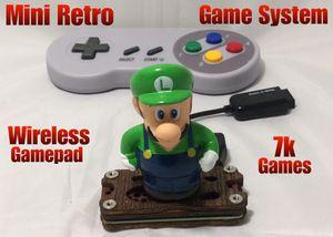 Mini Retro Game System 7k Games Retropie for Sale in Dallas, TX