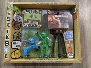 Stikbot toy game for kids 4+ and use with smart phone for Sale in Brea, CA