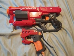 2 Nerf strike maga toys for Sale in Los Angeles, CA