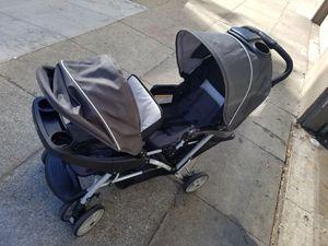 Black twin stroller for Sale in San Francisco, CA