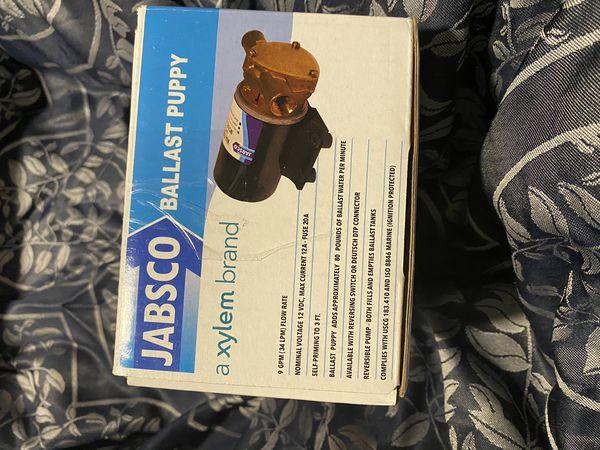 ballast puppy Jabsco Pump