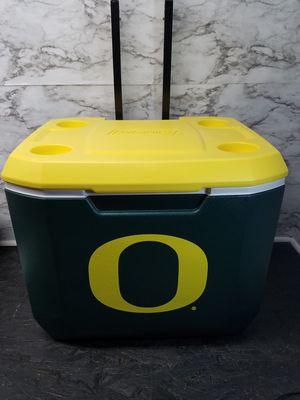 Oregon Ducks Wheeled Cooler Coleman New for Sale in Portland, OR