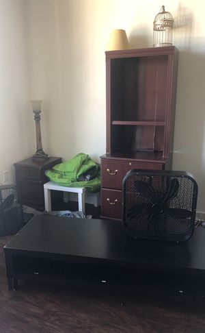 Dresser, bookshelf, tables and chairs for Sale in Orlando, FL
