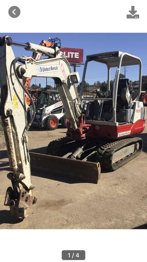 Mini excavator summer special for Sale in Lemon Grove, CA