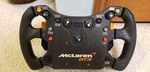 Fanatec CSL Elite McLaren GT3 Quick Release Simracing Wheel for Sale in Medina, OH