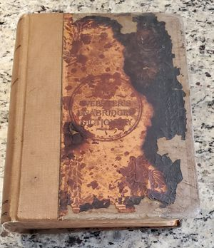 1909 Websters Unabridged Dictionary American dictionary of the English language for Sale in Vacaville, CA