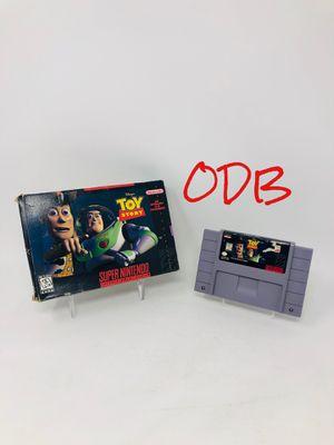 Toy Story - Box & Cartridge - Super Nintendo SNES for Sale in Parkville, MO