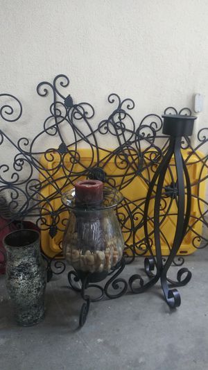 Candle holder & wall decor for Sale in Fullerton, CA