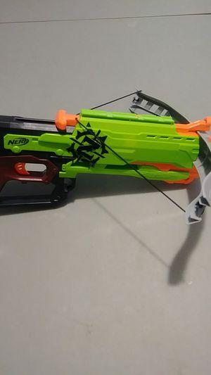 Nerd Zombie Strike toy crossbow. for Sale in Wichita, KS
