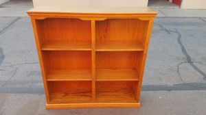 Oak bookshelf for Sale in Modesto, CA